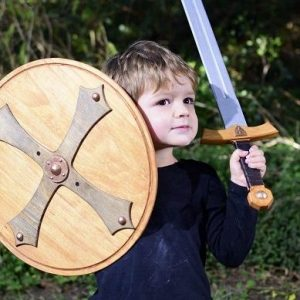 Swords and Shields wooden handmade